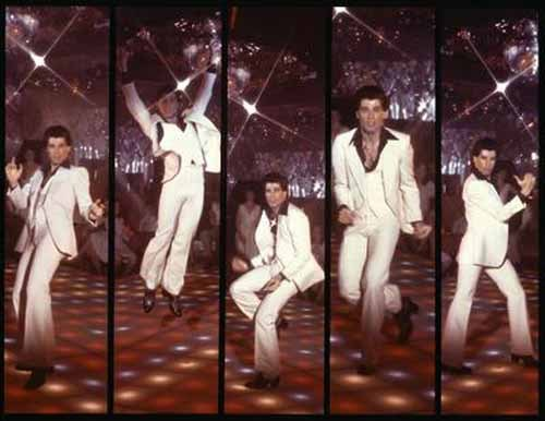 Travolta throwback in '77 :)