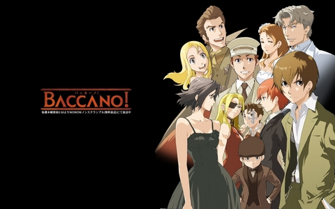 Well, Baccano. It takes place in three different time lines, but, it is still historical. Just watch it, its great