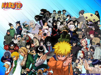 Well the first three anime I have seen since I was a little kid were: Digimon Adventure Naruto (Picture) and Yu-Gi-Oh