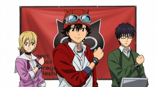 sket dance! not much of romance but its really great!! i loved it!!