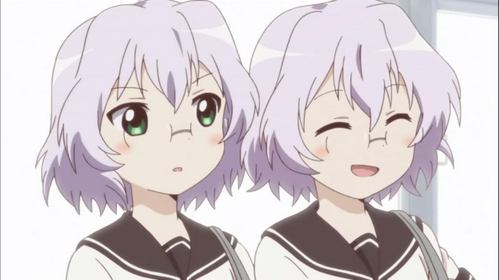 Chitose and Chizuru from YuruYuri