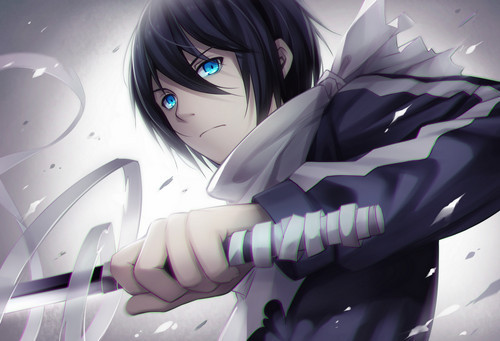 Yato (Noragami) always fantasizes about being a well-known god.