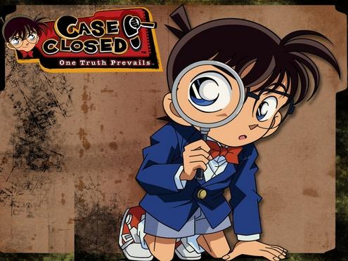 "My first anime was Meitantei Conan's english dub ""Case Closed""."