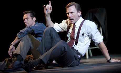 Hugh Jackman and Daniel Craig from the play,A Steady Rain:)