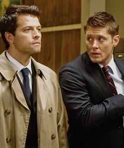 Misha and Jensen in 邪恶力量