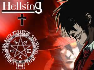 last ep hellsing ultimate when alucard died because he was my fave but I was happy when he came back at the end