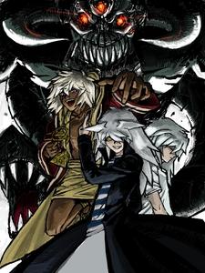 Bakura the king of thieves, Yami Bakura and Ryou Bakura from Yu-Gi-Oh! :)