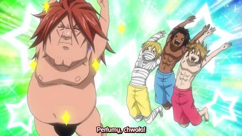 Ichiya from Fairy tail in this pose lol...