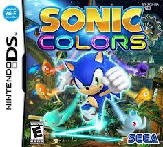 SONIC Colors(色) DS