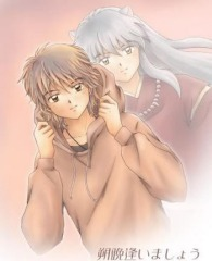 inuyasha!! though he is only a half demon!