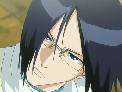Uryu Ishida from Bleach;)!