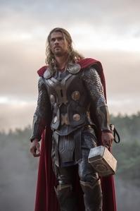 Chris as Thor<3