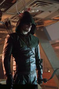 Stephen as Green Arrow<3