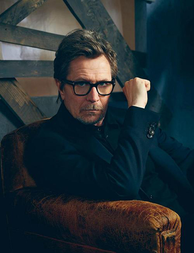 Gary Oldman and Bow played alongside