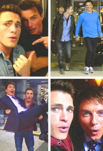 John and Colton *They are gonna have scenes seguinte season*