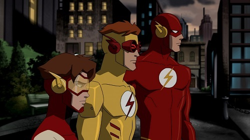 Kid Flash (Wally West) is, in fact, slower than The Flash and Impulse. This is because Wally obtained his powers via a duplicated, not-so-accidental accident. Because Wally's duplication of the accident was on a smaller scale, he didn't obtain as much access to the speedforce as Barry had. Barry obtained his powers via a lightning strike and mixed chemicals spilling on him (as 你 may know). He was the 秒 Flash, the first being 松鸦, 杰伊, 杰伊 · Garrick. (Jay obtained his powers via dorment metagenes being activated. He is not related to Barry.) Barry's accident gave him almost full access to the Speed Force, an extra-dimensional energy that feeds all the speedsters' powers. However, Barry's powers skipped a generation and were passed down to Bart Allen, his grandson. (Bart's parents are Don Allen and Meloni Thawne.) Bart was born with all of Barry's super speed, if not more. EDIT: After doing a bit 更多 research, I came across the information that Wally's lack of speed is due to a mental block he put up in order to not replace Barry when he became the Flash. While he was truly slower than Barry and Impulse when he was a teen, he developed his powers and was able to go faster than the Flash - he just didn't let himself. When he took over the 整流罩 when Barry died, Wally promised himself that he would never replace his uncle. However, after an encounter with Reverse-Flash, Eobard Thawne, Wally overcame that mental block, because he was 更多 afraid of Eobard replacing Barry than he was of himself doing so. Because of this, he became as fast as Barry, and eventually faster. Though he never gained the ability to phase through objects (they just blew up), Wally developed new powers that allowed him to use his speed to kinetically upgrade his attacks, share/steal speed, and super heal others. So, TD;LR, Wally's slower than Barry and Bart at first, but he grows into his powers and becomes 更多 badass than them all.