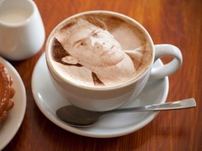 Paul in my cup of капучино <33333