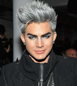 Adam with colored hair<3