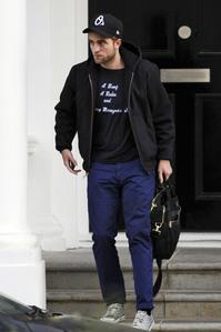 Robert wearing Converse sneakers<3