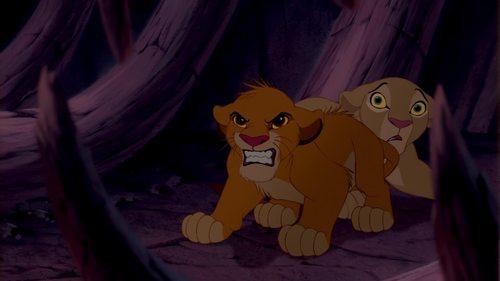 I'll say Simba (Swahili for Lion / Courage) Moyoni (Swahili for Heart). So Simba Moyoni = Lion heart