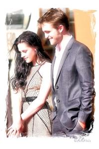 my 2 stunning loves,Robert and Kristen<3