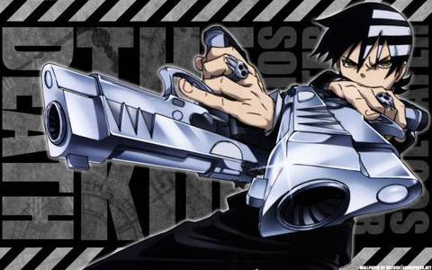Death the Kid from Soul Eater. I pag-ibig the characters and the anime!