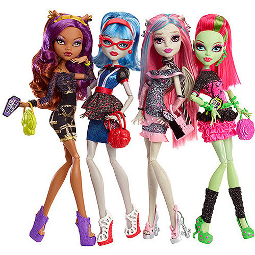 I collect Monster High boneka and also now I'm collecting Amiibo's figures.