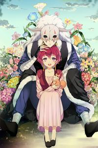 Yona and Shin-Ah from Akatsuki no Yona (THIS WAS SO HARD TO CHOOSE! I pag-ibig every character from Akatsuki no Yona DX They are my babies)