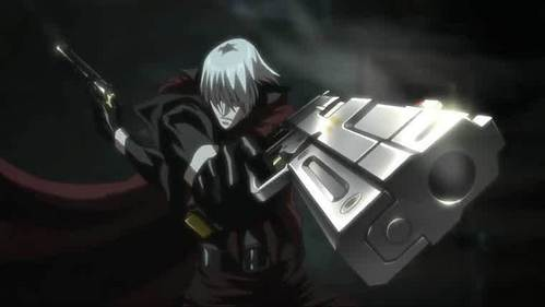 Dante........ From Devil May Cry