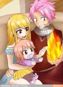 The creator said in an interview that Lucy and Natsu will get married and have a baby named Nashi