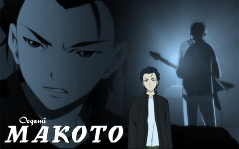 Makoto from Ghost Hound.......i dont like the 日本动漫 but makoto is pretty cool!~