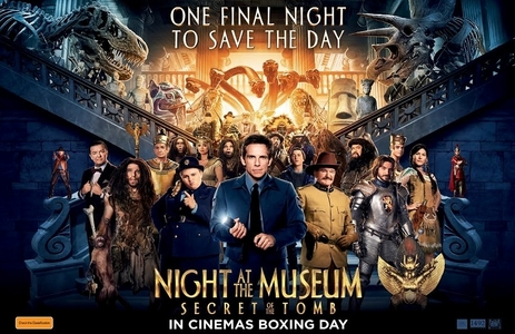 """I went to see """"Night at the Museum: Secret of the Tomb"""" with my mom. :)"""