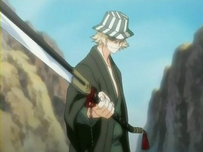 Kisuke Urahara (Bleach) he was never defeated in battle not even once............eh he ehe in fight with Aizen..he planted a selyo inside aizen without him noticing it and waited for the time to activate it.........and it all went according to his plan...........eh eh ehe he