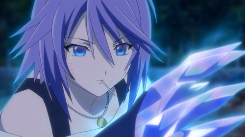 Mizore Shirayuki from Rosario + Vampire This 日本动漫 is nothing compared to the manga. Even on its own it's pretty awful to me. On the other hand Mizore is probably one of my 总体, 整体 最喜爱的 characters.