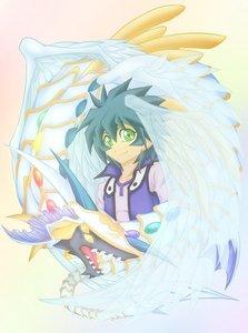 Johan Anderson and arcobaleno Dragon-Yugioh GX