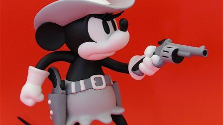 Western Mickey mouse