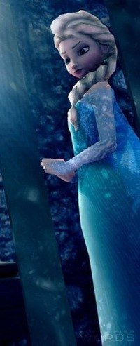 Elsa Why: Because she as icy powers!!