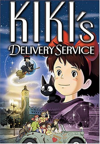 My first 日本动漫 was Kiki's Delivery Service. I think I was around seven 或者 eight when I saw it the first time.