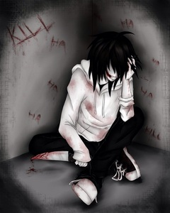 Ok so i have over a billion animê crushes But....... A non-anime Charecter i am absolutely positively, ove, outta control, romantically obsessed right now would be this sexy boy!!!! JEFF THE KILLER!!!!!!!!