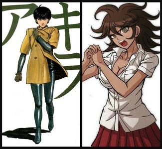 Kei from Akira and Akane Owari from Super Dangan Ronpa are both voiced in English sa pamamagitan ng Wendee Lee!