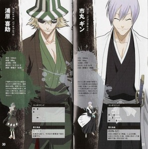 Kisuke Urahara / alak Ichimaru (Bleach) both of them have same eng dub voicing actor.............he he he he