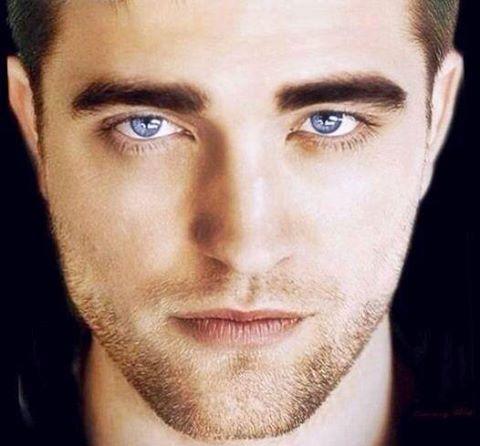 Robert and his stunning,mesmerizing sapphire blue eyes<3