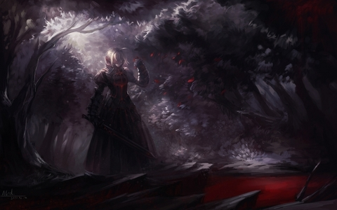 this is mine : Alter Saber