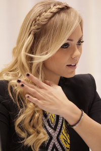 Laura Vandervoort, I found it on Google.