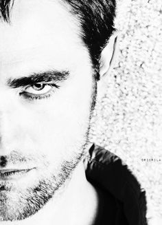 my gorgeous Rob not smiling<3