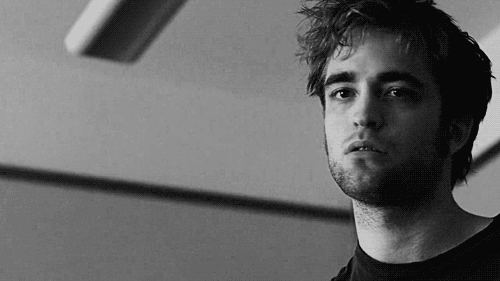 Robert with a f*** u expression<3