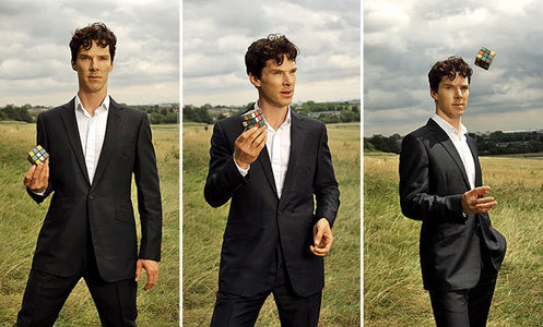 Benny in a suit<3