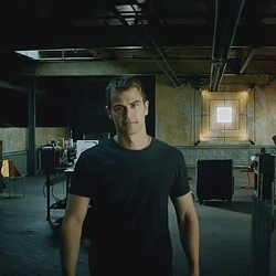 Theo looking so hot in black<3