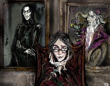 Minerva McGonagall became the new headmistress but J.K Rowling dicho in a anterior interview that she would have retired at the end of the movie because the epilogue showed them 20 years after the battle and since McGonagall was 70 years old in the first book so she would have gotten pretty old.
