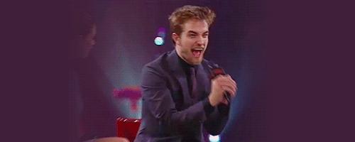Robert screaming<3
